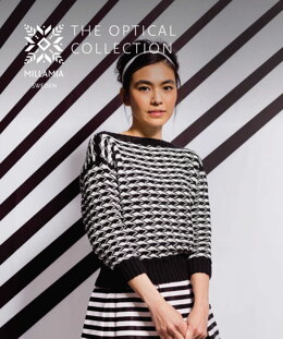 The Optical Collection E-Book - Knitting and Crochet Patterns For Women in MillaMia Naturally Soft Cotton by MillaMia