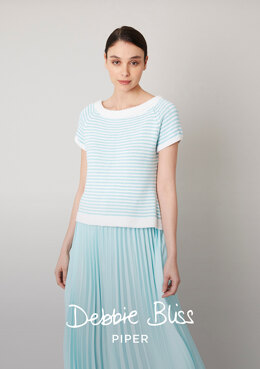 Antoinette Top in Debbie Bliss Piper - DB299 - Downloadable PDF