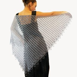 Wrapped in Lace Shawl