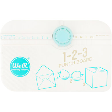 We R Memory Keepers 123 Punch Board - 368011