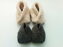 Crossover Baby Booties