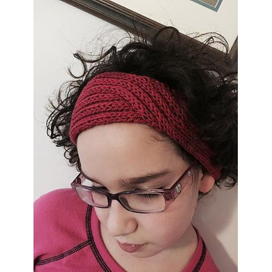 Turbie Twist Headband Knitting Pattern By Margaret Holzmann