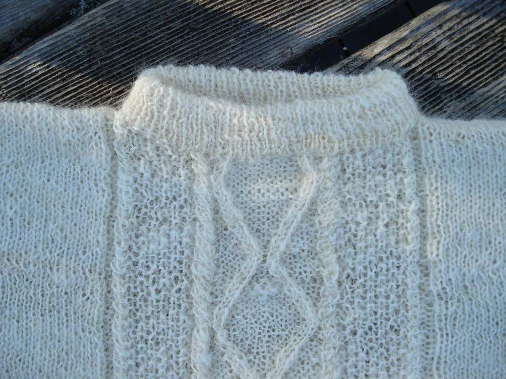 Connor S Aran Knitting Pattern By Tin Shed Yarns