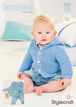 Cardigans in Stylecraft Bambino DK - 9505 - Downloadable PDF