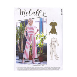 McCall's Misses' Shorts and Pants M8119 - Sewing Pattern