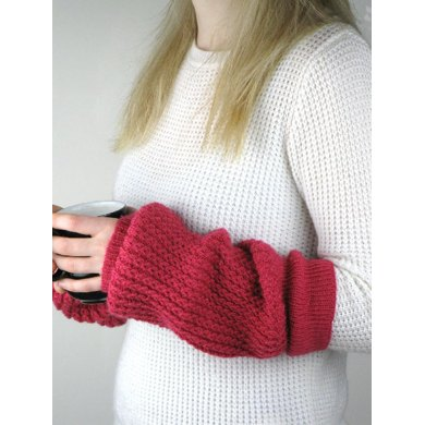 Faux Cable Arm/Leg Warmers