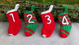 Mini Stocking Advent Calendar