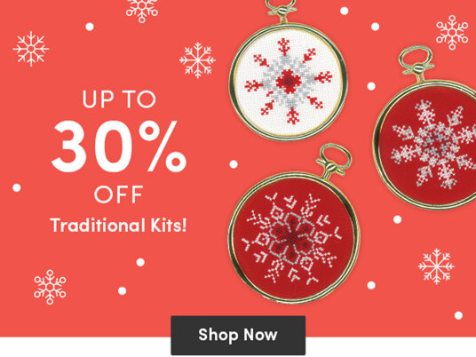 Up to 30 percent off traditional kits!