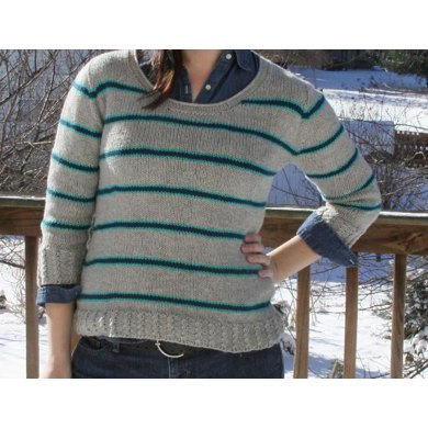 Electric Oasis Pullover