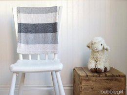 Simple Striped Baby Blanket