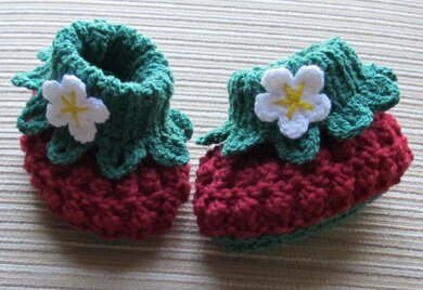 COTTON BERRY BOOTIES
