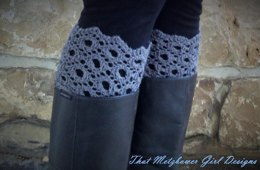 Old English Lace Boot Cuffs