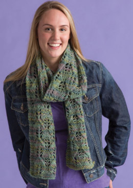 Adoette Multi Scarf in Classic Elite Yarns Horizon