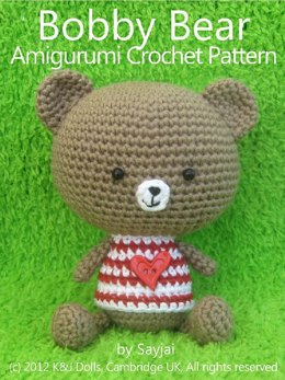 Bobby Bear: Crochet Pattern for a Bear Doll