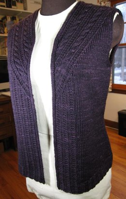 Knitting Patterns For Waistcoats Free : Waistcoat Knitting Patterns LoveKnitting