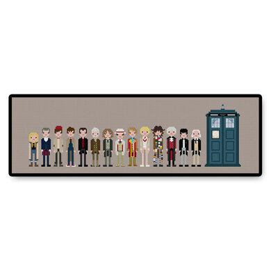 The Doctors - PDF Cross Stitch Pattern