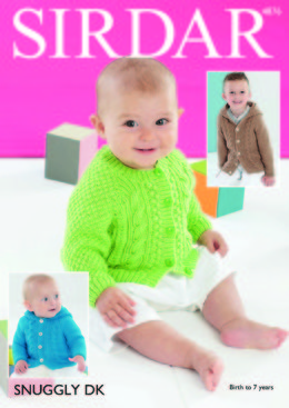 Jackets in Sirdar Snuggly DK - 4876 - Downloadable PDF