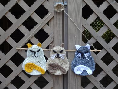 Happy Cats Wall Hanging