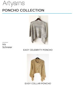 Poncho Collection in Artyarns Merino Cloud - Downloadable PDF