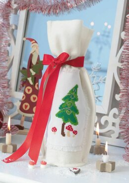 Enchanting Christmas - Christmas Tree Bottle in Anchor - Downloadable PDF