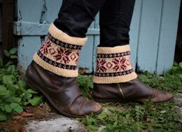 Snowflakes Boot Cuffs