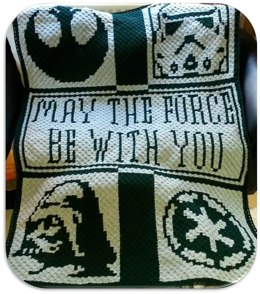Star Wars Throw Crochet Graphghan Pattern