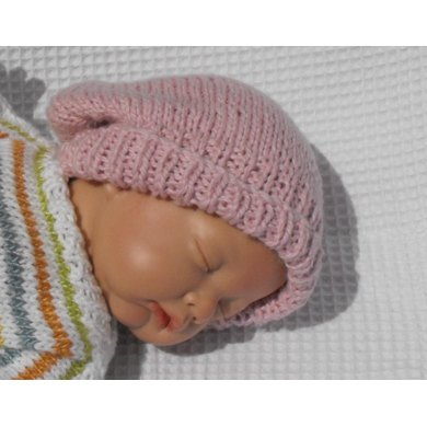 Baby Cotton Slouch Beanie Hat