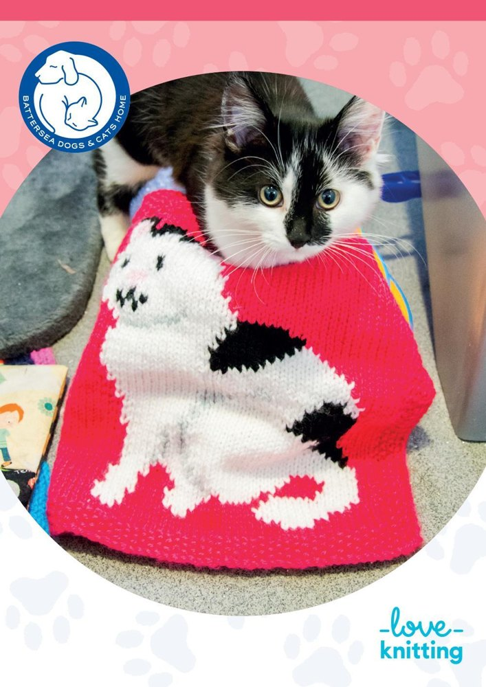 Battersea Dog Blanket Knitting Pattern : Ray Blanket for Battersea Knitting pattern by Battersea Dogs & Cats Home