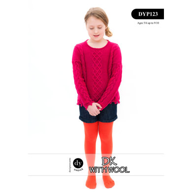 Jumper in DY Choice DK With Wool - DYP123
