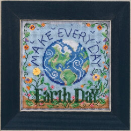 Mill Hill Spring Series 2020 - Earth Day - 5.25in x 5.25in