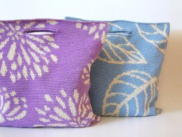 Dahlias and leaves bags
