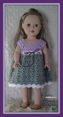 "18"" Doll Diamond Dress"
