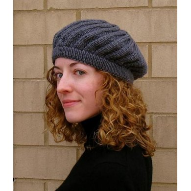 Annecy Beret Knitting Pattern By Danielle Chalson Knitting