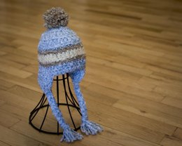 Three Stripe Baby Hat Pattern Quick and Easy
