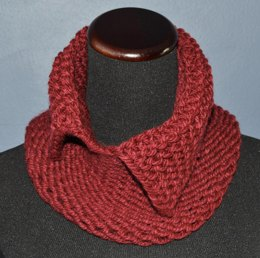 Reversible Collared Cowl