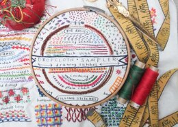 Dropcloth Samplers The Drawing Stitches Embroidery Kit