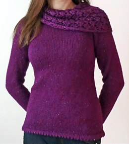 Lacy Cowl Tunic