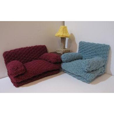 Knitkinz Couch and Chair