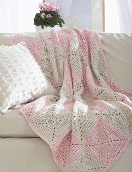 Twists Blanket in Lily Sugar 'n Cream Twists
