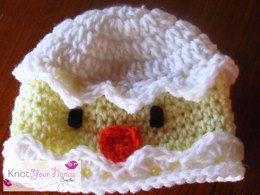 Cracked Egg Chick Hat