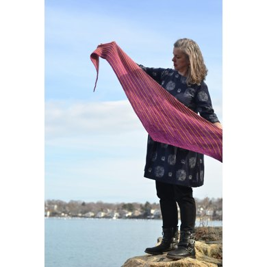 Plum Cove Shawl