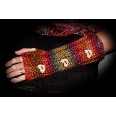 Ribbed Fingerless Gloves Pattern