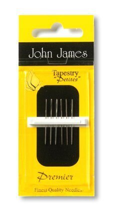 John James Size 28 Petites Cross Stitch Needles(5)