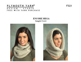Simple Cowl in Plymouth Encore Mega - F321