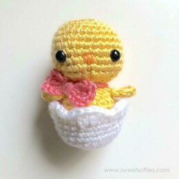 Baby Chick in Easter Egg