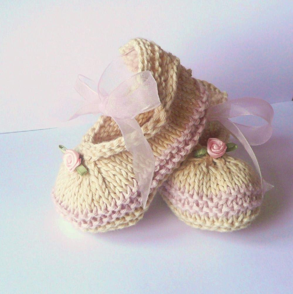 Posh Party Baby Shoes Knitting Pattern By Katy Farrell Knitting
