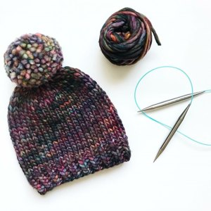 Simple knitted hat a579a25787d