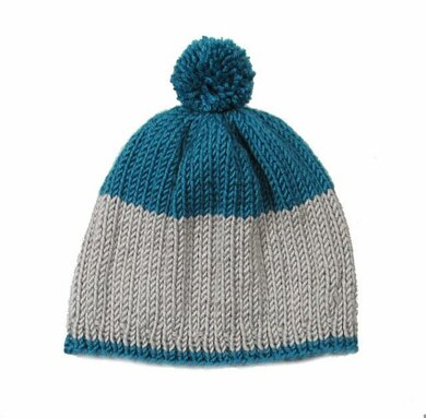 Color Block Ribbed Hat