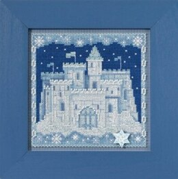 Mill Hill Ice Castle Cross Stritch Kit - Multi