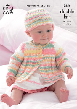 Coats and Hats in King Cole DK - 3556
